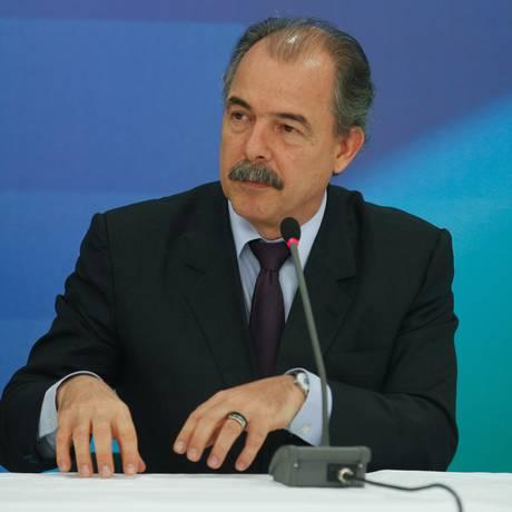 O ministro da Casa Civil, Aloízio Mercadante Foto: André Coelho