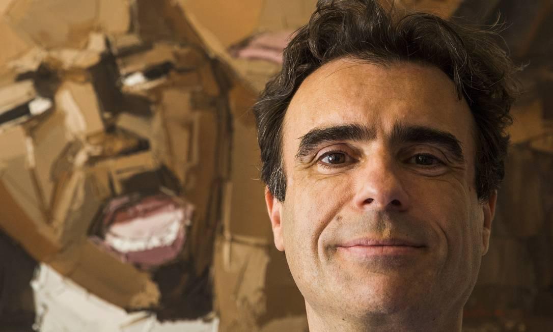 O marroquino Eric Stobbaerts luta contra o desinteresse por um mal que mata milhares no Brasil e 12 milhões no mundo Foto: Fabio Seixo / Agência O Globo