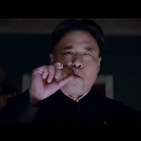 Randall Park vive um Kim Jong-un diferente em 'A entrevista' Foto: Reprodução