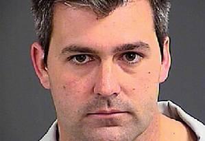 Michael Slager em foto da ficha policial: demitido e sem advogado Foto: - / AFP