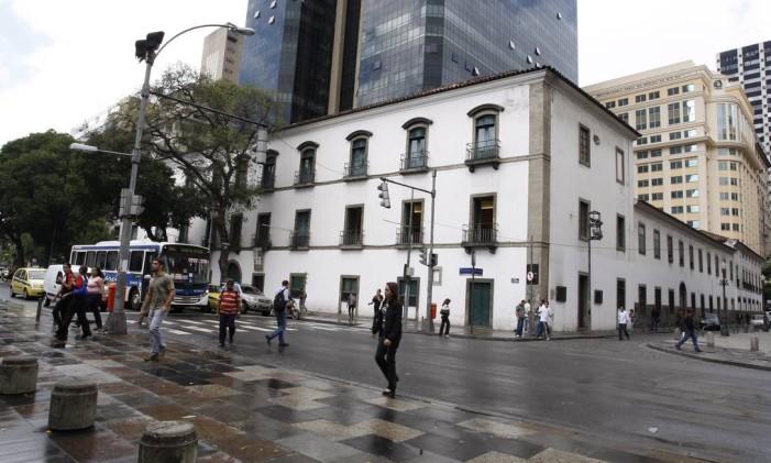 Antiga sede do Convento do Carmo Foto: Simone Marinho / Agência O Globo