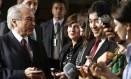 Novo articulador político do governo, Michel Temer diz que Planalto vai começar nomeações do segundo escalão Foto: Jorge William / Agência O Globo