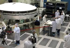 O Low-Density Supersonic Decelerator deve estar pronto para ser enviado a Marte até 2020 Foto: DIVULGAÇÃO/NASA