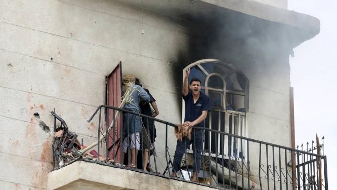 Bombardeios têm atingido residências em Sanaa Foto: KHALED ABDULLAH / REUTERS