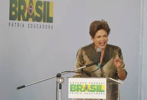"""Dilma Rousseff: """"Terceirização não pode comprometer direitos dos trabalhadores"""" Foto: Marcelo Carnaval"""