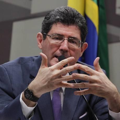 O ministro da Fazenda, Joaquim Levy: analistas afirmam que humor em relação a ajuste fiscal melhorou Foto: Ailton de Freitas / Agência O Globo