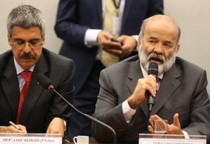 Vaccari negou ter tratado de dinheiro com o doleiro Alberto Youssef e ex-gerente da Petrobras Pedro Barusco Foto: Ailton de Freitas / Agência O Globo