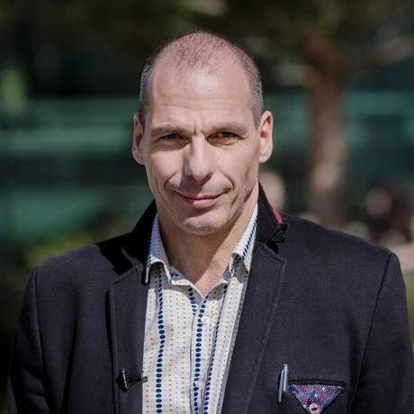 O ministro das Finanças grego Yanis Varoufakis Foto: Marlene Awaad / Bloomberg