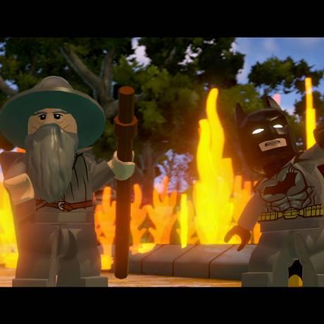 Cena do videogame Lego Dimensions Foto: AP
