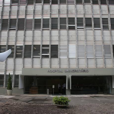 Fachada do Hospital Universitário da USP Foto: Marcos Santos / USP