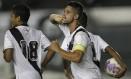 O zagueiro Luan, com a braçadeira de capitão do Vasco, é um dos líderes do time, apesar da pouca idade (22 anos) Foto: Marcelo Sadio / vasco.com.br