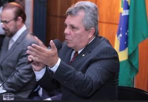 """Deputado Alberto Fraga (DEM-DF), integrante da """"bancada da bala"""", defende projeto que permite porte de armas por deputados Foto: Divulgação"""