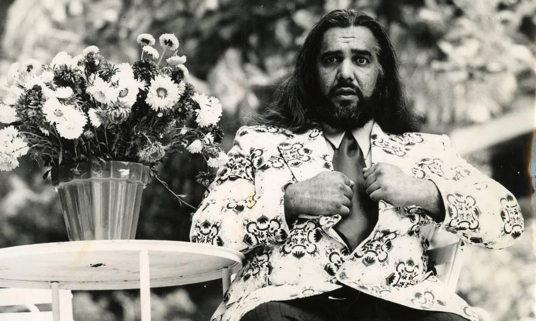 """Carlos Imperial em cena no filme """"A banana mecânica"""", de 1974 Foto: Arquivo/Agência O Globo"""