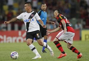 O árbitro João Batista de Arruda no primeiro jogo entre Vasco e Flamengo, no Carioca Foto: MarceloSadio / Vasco da Gama