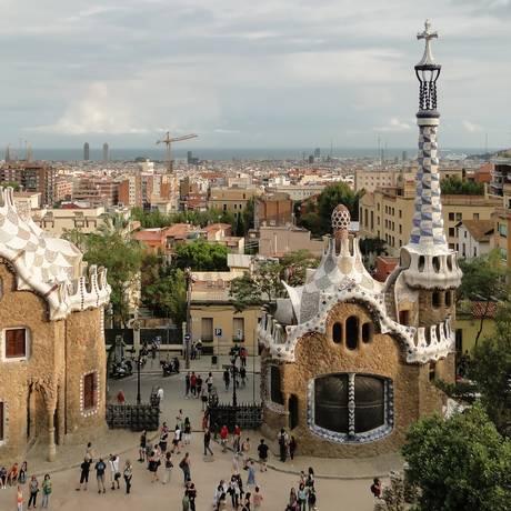 Parc Güell, um dos pontos turísticos de Barcelona Foto: Reprodução
