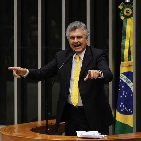 O deputado federal Ronaldo Caiado (DEM-GO) Foto: Ailton de Freitas/14-5-2013
