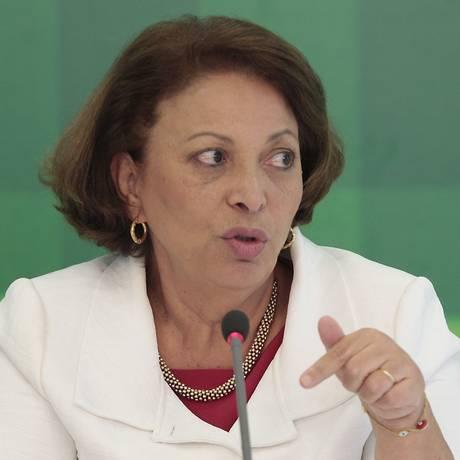 A ex-ministra Ideli Salvati Foto: Jorge William/19-2-2013 / Agência O Globo