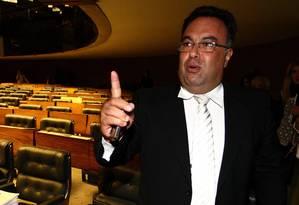 Ex-deputado petista André Vargas, preso pela Polícia Federal Foto: Ailton de Freitas / Agência O Globo