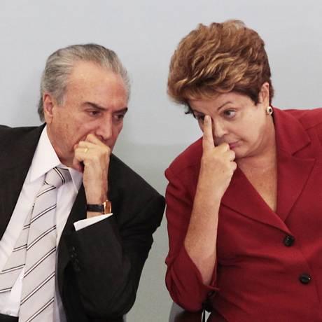 """Decisão foi tomada para buscar """"harmonia"""" entre o executivo e o legislativo Foto: Jorge William / Agência O Globo"""