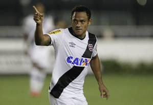 Marcinho fez gol em sua volta pelo Vasco Foto: Marcelo Sadio / Vasco