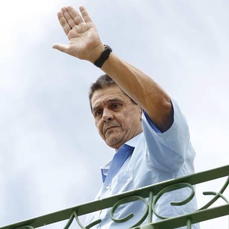 Preso no início de 2014, ex-deputado Roberto Jefferson pedirá ao STF progressão para regime aberto Foto: Pablo Jacob 22-02-2014 / Agência O Globo
