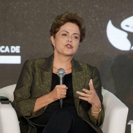 Dilma Rousseff durante Fórum dos Empresários na Cidade do Panamá Foto: Pablo Martinez Monsivais / AP