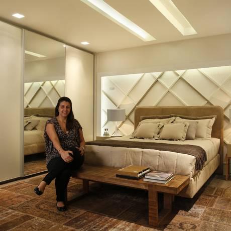 Bianca Da Hora projetou um espaço pensando em um jovem casal bem- sucedido, que busca requinte Foto: Divulgação/Juliano Colodeti/ (MCA Estúdio)