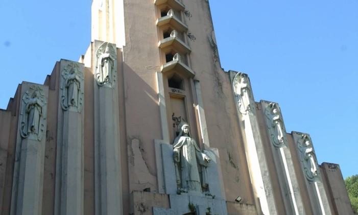 Igreja de Santa Terezinha Foto: Michel Filho / O Globo