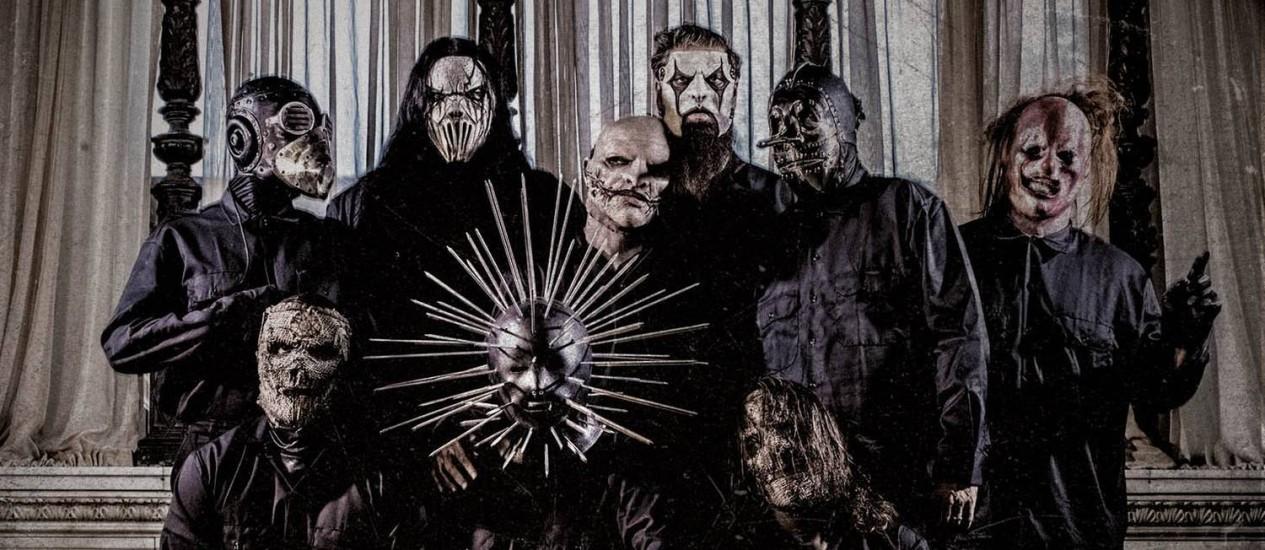 Ainda dá tempo de comprar ingresso para ver a banda americana Slipknot Foto: Divulgação