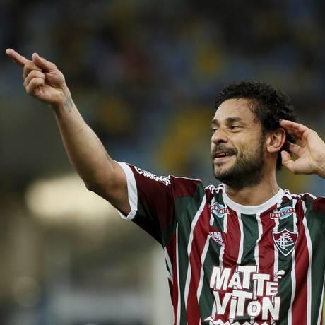 Fluminense possui 20% do passe de Fred Foto: Marcos Tristão / Agência O Globo