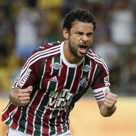Fred já marcou 150 gols pelo Fluminense Foto: Marcos Tristão / Agência O Globo