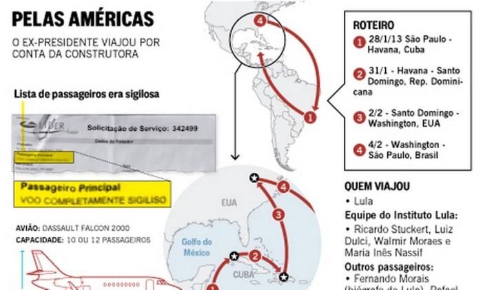 . Foto: O Globo / Editoria de Arte