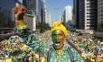 Ato na Paulista contra o governo federal reuniu 275 mil pessoas