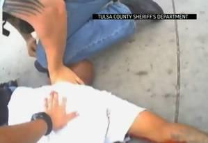 Família de Eric Harris pediu que vídeo fosse divulgado pela polícia Foto: Uncredited / AP