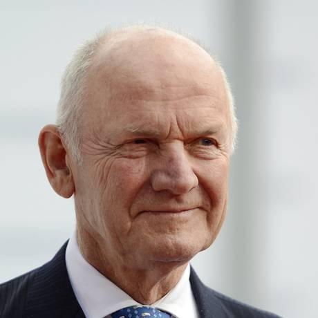 O presidente do Conselho da Volkswagen Ferdinand Piech Foto: ODD ANDERSEN / AFP