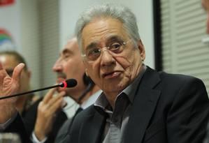 O ex-presidente Fernando Henrique Cardoso. Foto: Marcos Alves / Arquivo O Globo - 17/09/2014