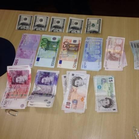 Dinheiro apreendido durante operação Tempo de Despertar,da Polícia Federal Foto: Divulgação