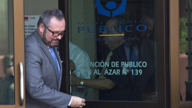 Sebastián Dávalos. Filho de presidente chilena prestou depoimento no Ministério Público sobre escândalo conhecido como