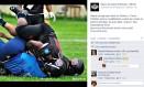 Post do Vasco Patriotas provoca o Flamengo Foto: Reprodução