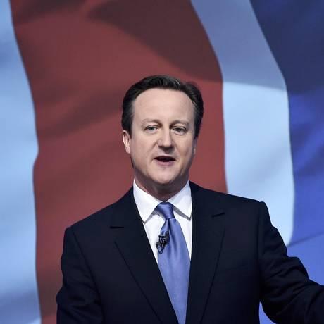 Cameron apresenta propostas para um segundo mandato no Reino Unido Foto: TOBY MELVILLE / REUTERS