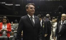 O deputado federal Jair Bolsonaro Foto: Givaldo Barbosa / Agência O Globo