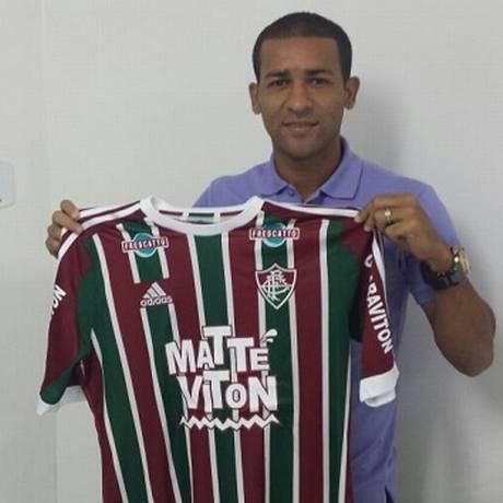 Pierre deixou o Atlético-MG e assinou com o Fluminense Foto: Thiago Bokel/Divulgação FFC