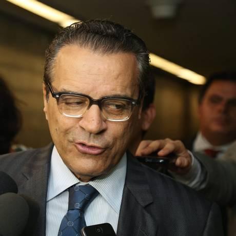 O ex-presidente da Câmara Henrique Alves Foto: André Coelho/30-10-2014 / Agência O Globo