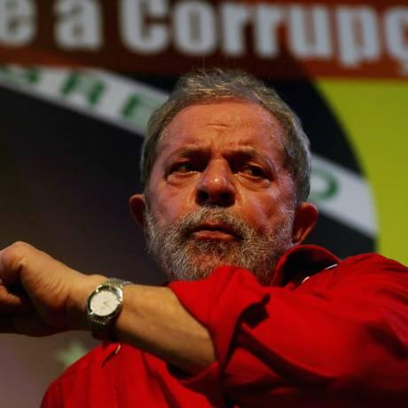 O ex-presidente Lula Foto: Fernando Donasci/ 31-3-2015