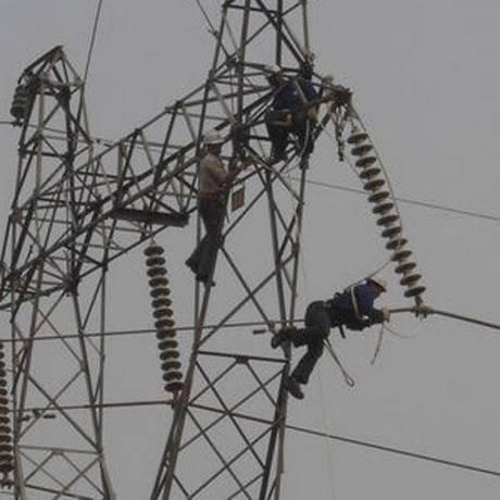 Torre de tranmissão de energia da Eletronorte Foto: Divulgação