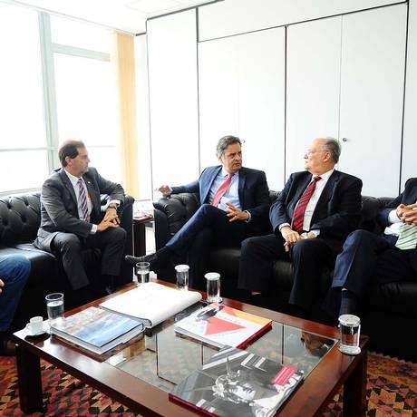 Presidentes de partidos da oposição discutem posição sobre pedido de impeachment de Dilma Foto: Divulgação/ PSDB