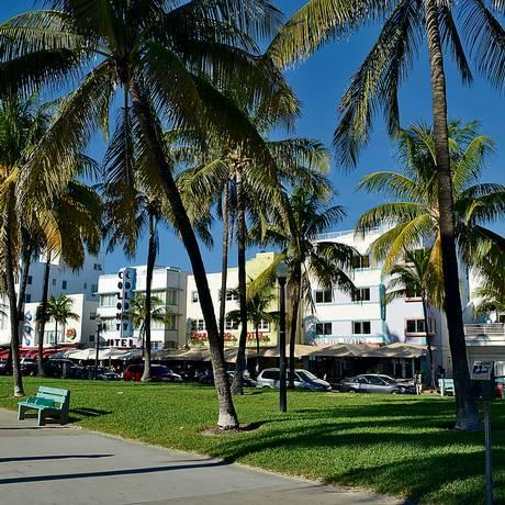 Ao lado de Nova York e Orlando, Miami forma o Top 3 dos brasileiros nos EUA. São necessárias, em média, de 40 mil a 60 mil milhas para passagem de ida e volta Foto: Cristina Massari / Agência O Globo