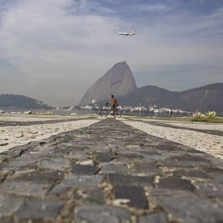Pão de Açúcar visto do Aterro do Flamengo, no Rio Foto: Márcia Foletto/14-5-2014