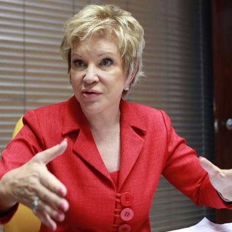 A senadora Marta Suplicy (PT-SP) Foto: Ailton de Freitas/8-11-2012 / Agência O Globo
