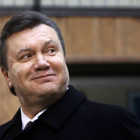 Viktor Yanukovych. Vários antigos aliados de presidente ucraniano deposto apareceram mortos nos últimos meses Foto: Efrem Lukatsky / AP